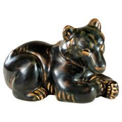 1950´s Danish Knud Kyhn Bear Figurine for Royal Copenhagen