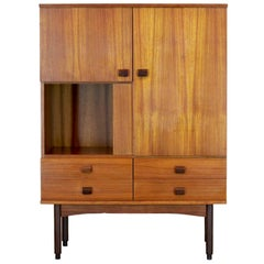 1950 vintage highboard in Scandinavian style