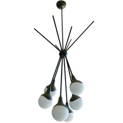 1950 Stilnovo Chandelier