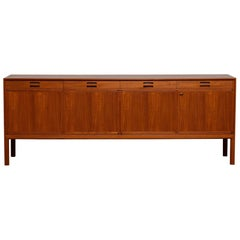 1950 Teak Sideboard / Credenzas Designed by Bertil Fridhagen for Bodafors Sweden