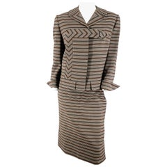 1950s/1960s Irene Stripped Suit