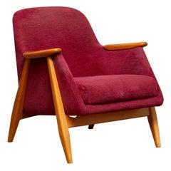 1950s, a 'Pallas' Club / Easy Armchair by Svante Skogh for Asko Finland