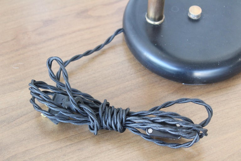 1950s Adjustable French Desk Lamp For Sale 4