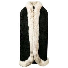 1950s A.N.G.E.L.O. Vintage Cult Fur Cape