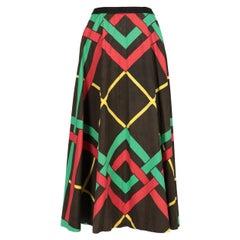 1950s A.N.G.E.L.O. Vintage Cult Long Skirt