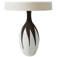 "1950s Anna-Lisa Thomson ""Paprika"" Ceramic Table Lamp, Sweden"
