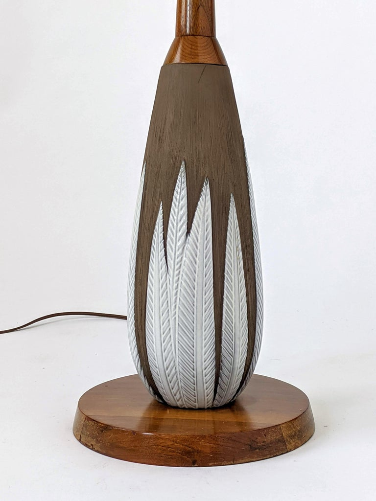 Mid-20th Century 1950s Anna-Lisa Thomson ''Paprika'' Floor Lamp, Sweden For Sale
