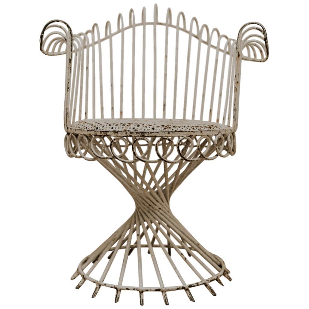 """1950s """"Antheor"""" Armchair by Mathieu Matégot"""