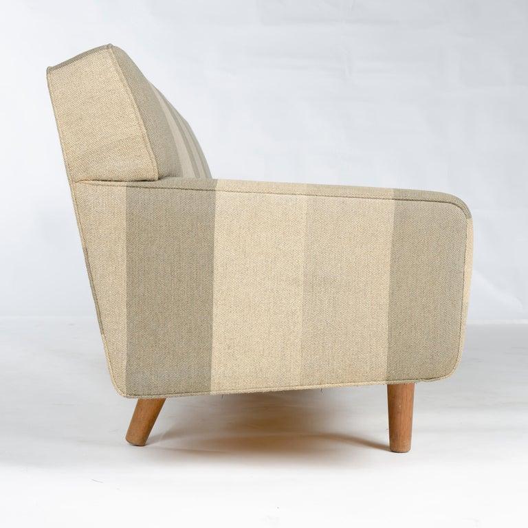 Scandinavian Modern 1950s AP32-S Danish Upholstered Sofa by Hans J. Wegner for A. P. Stolen For Sale