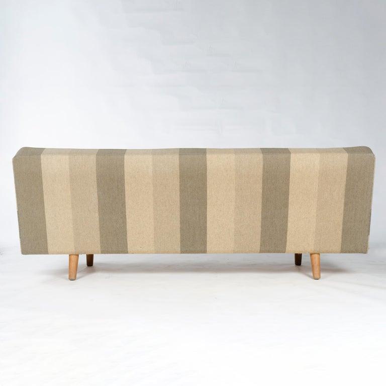 Mid-20th Century 1950s AP32-S Danish Upholstered Sofa by Hans J. Wegner for A. P. Stolen For Sale