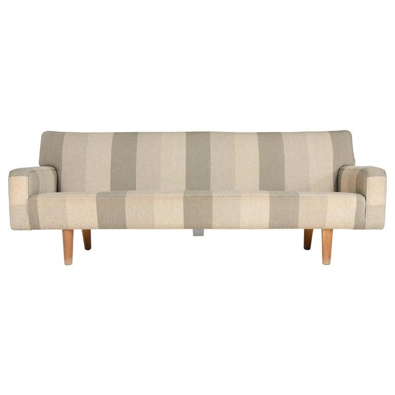 1950s AP32-S Danish Upholstered Sofa by Hans J. Wegner for A. P. Stolen For Sale