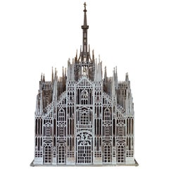 """1950s Architectural Scale Model of the """"Duomo di Milano"""""""