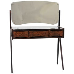 1950s Arne Vodder Rosewood Dressing Table