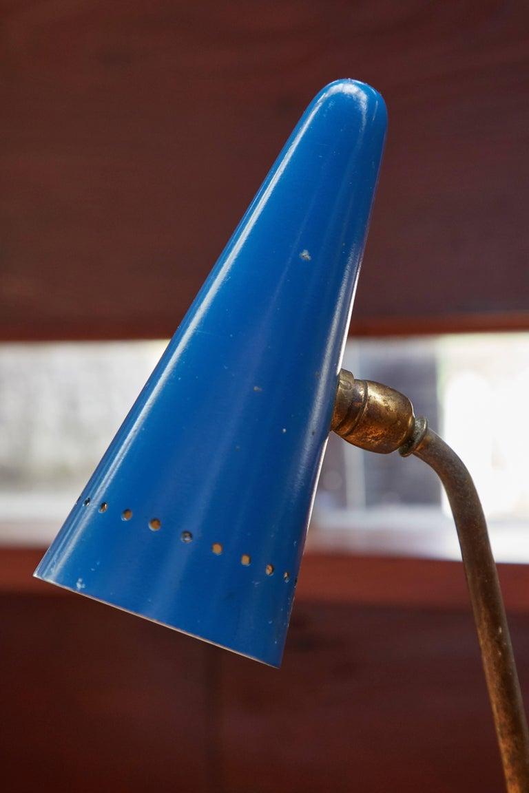 1950s Arteluce Tricolore Table Lamp For Sale 2