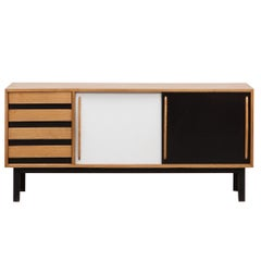 1950's ash and laminate Sideboard by Charlotte Perriand 'e'