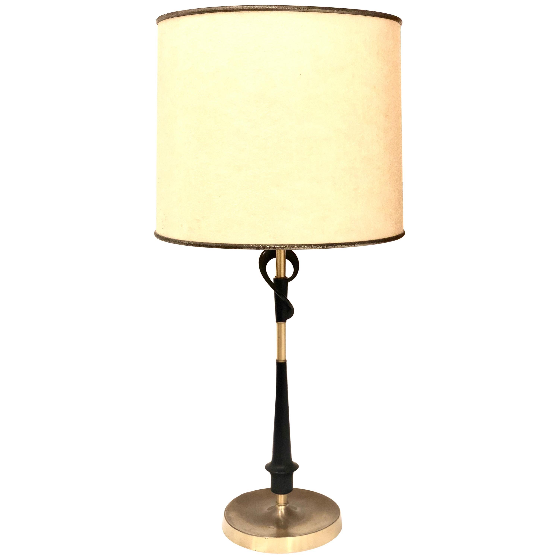 1950s Atomic Age Rare Table Lamp All Original Condition