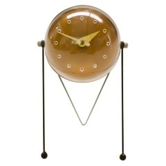 1950s Atomic Inspired Table Clock