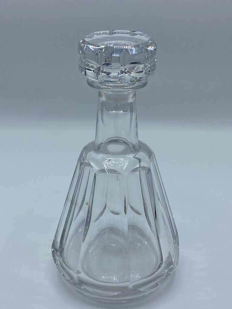 1950s Baccarat France Crystal Wine Decanter  For Sale 2
