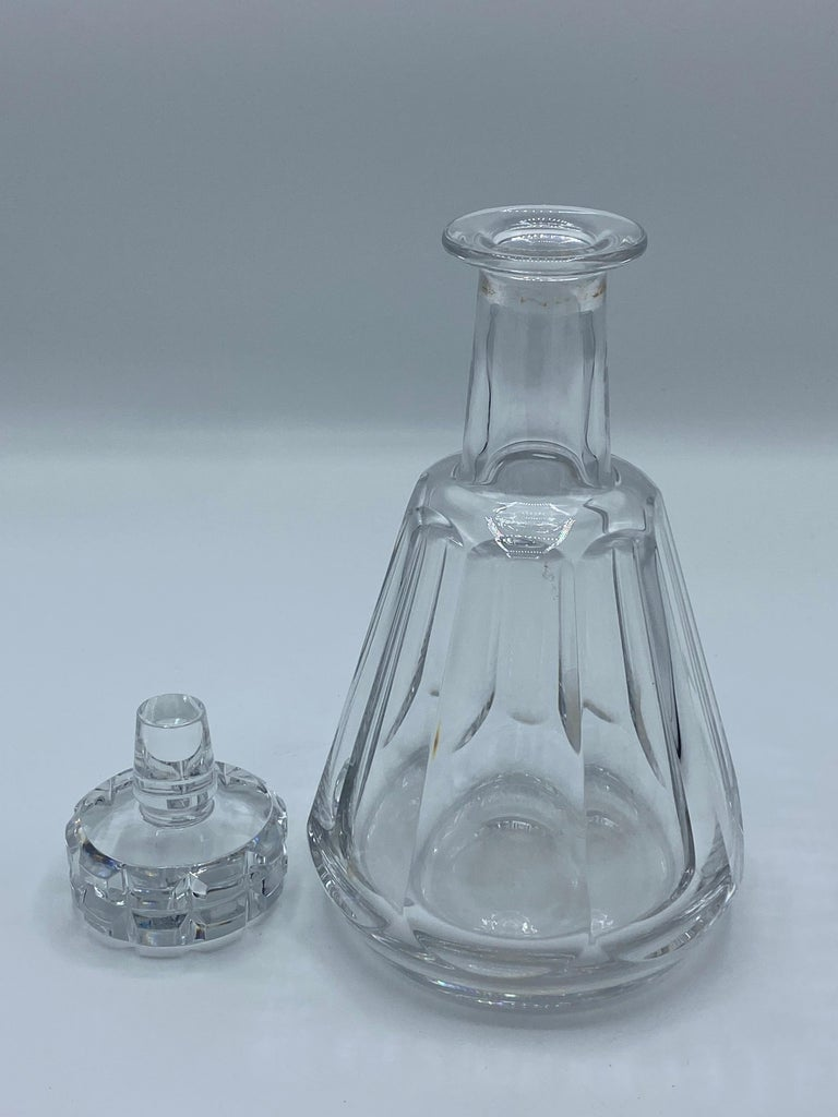 1950s Baccarat France Crystal Wine Decanter  For Sale 3