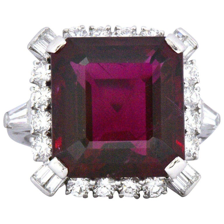 1950 S Bailey Banks And Biddle 13 37 Rubellite Tourmaline
