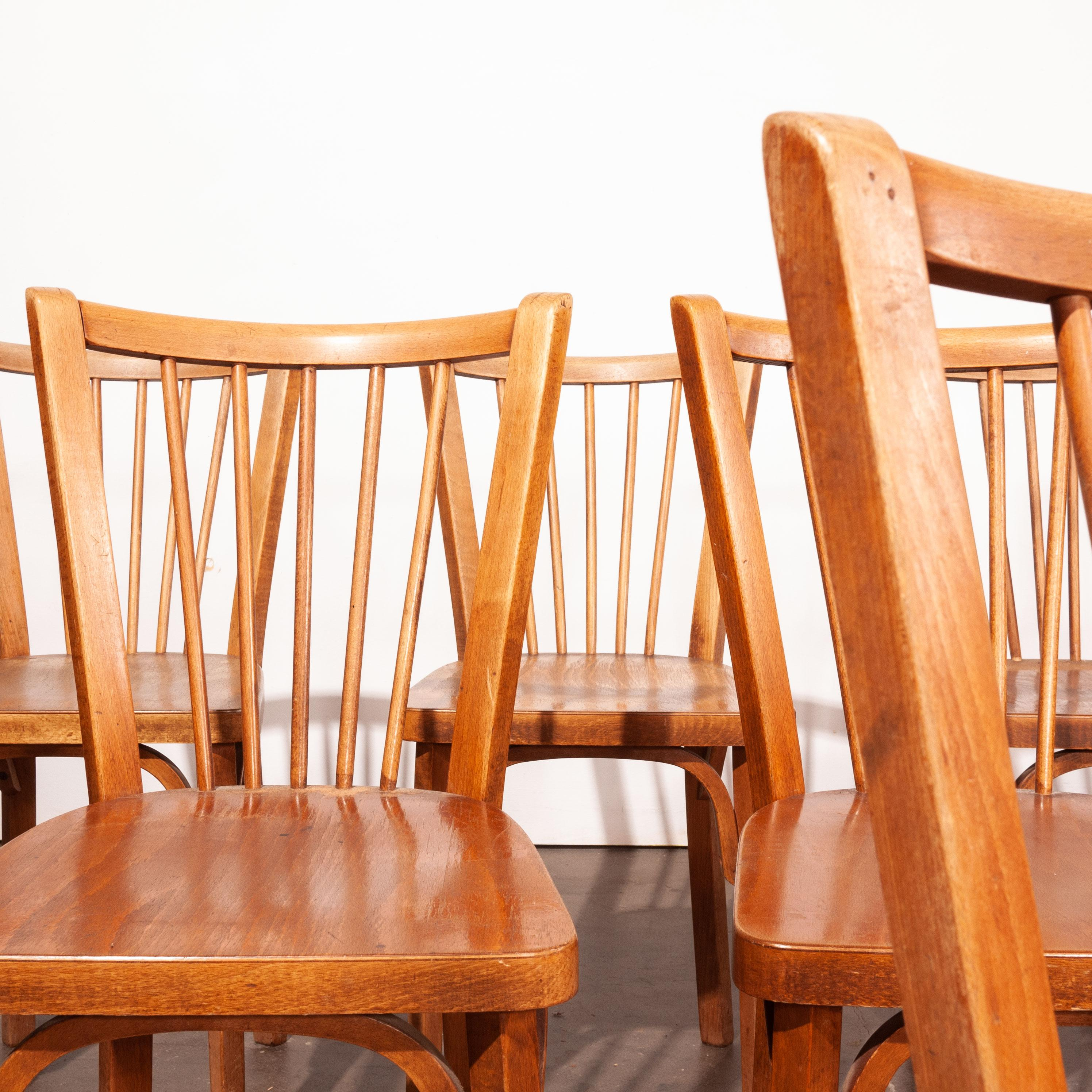 1950u0027s Baumann Bistro Dining Chairs   Set Of Eight   Other Quantities  Available