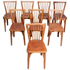 1950's Baumann Bistro Dining Chairs - Set Of Eight - Other Quantities Available
