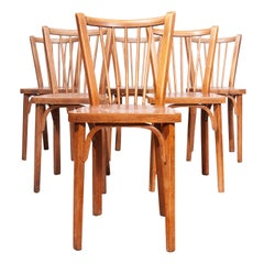 1950s Baumann Bistro Dining Chairs, Set of Six, Other Quantities Available