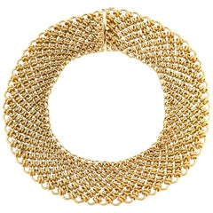 1950s Beautiful Paloma Picasso for Tiffany & Co Bib Necklace
