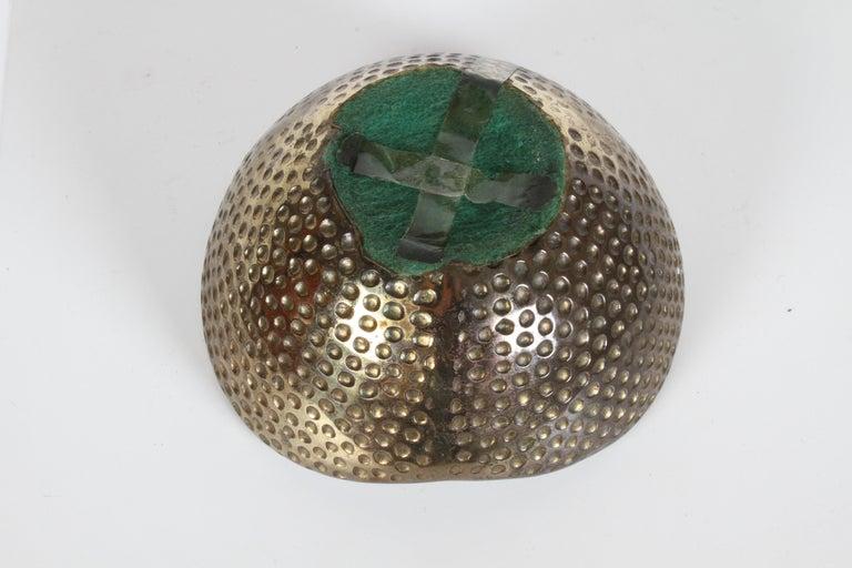 1950s Ben Seibel Brass Biomorphic Ashtray for Jenfred-Ware For Sale 2