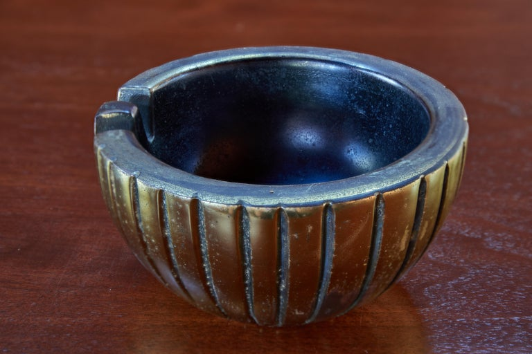 American 1950s Ben Seibel Brass Bowl or Ashtray for Jenfred-Ware For Sale