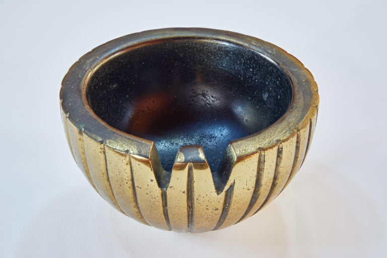 Mid-20th Century 1950s Ben Seibel Brass Bowl or Ashtray for Jenfred-Ware For Sale