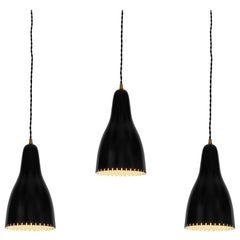 1950s Bent Karlby Pendants for Lyfa