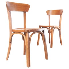 1950s Bentwood Bistro Dining Chairs, Pair
