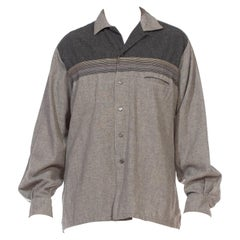 1950S Black & Grey Shirt