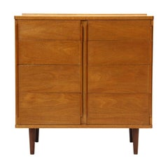 1950s Bleached Mahogany Chest of Drawers by Edward Wormley for Dunbar