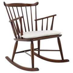 1950s Børge Mogensen Rocking Chair, Denmark