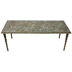 1950s Bronze Coffee Table by Masion Bagues