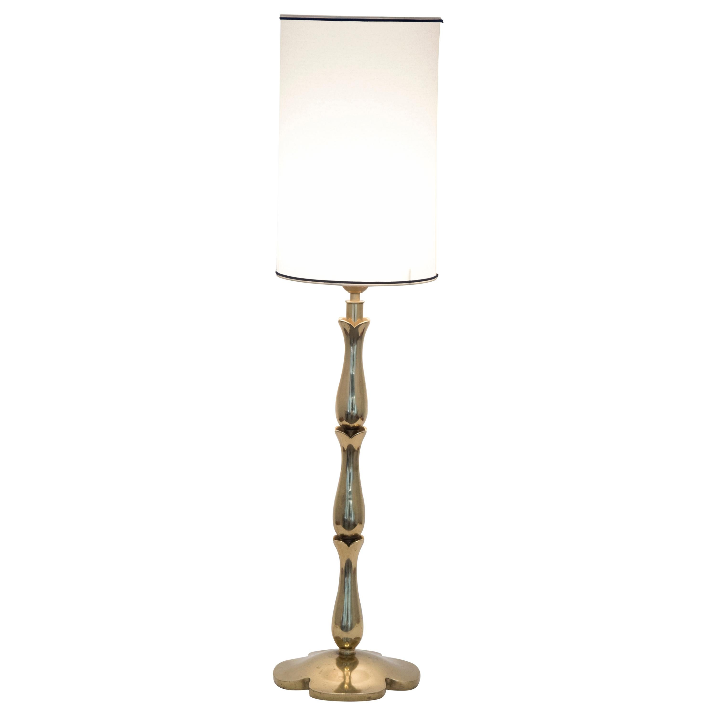 1950s Bronze lamp by Riccardo Scarpa