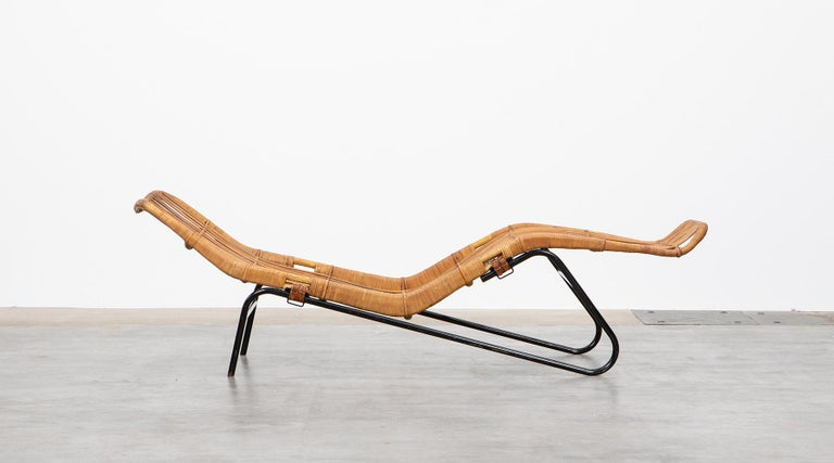 1950s Brown Chaise Longue by Dirk van Sliedregt on chaise recliner chair, chaise furniture, chaise sofa sleeper,