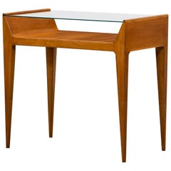 1950s Brown Cherrywood Console by Gio Ponti 'B'