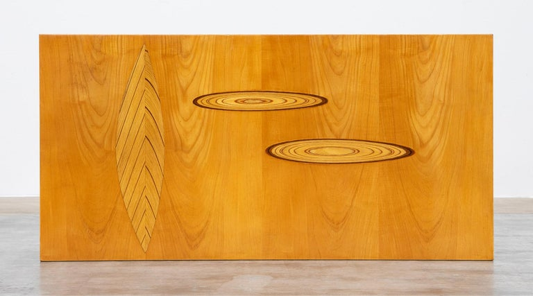 1950s Brown Wooden Coffee Table by Tapio Wirkkala 'd' For Sale 6