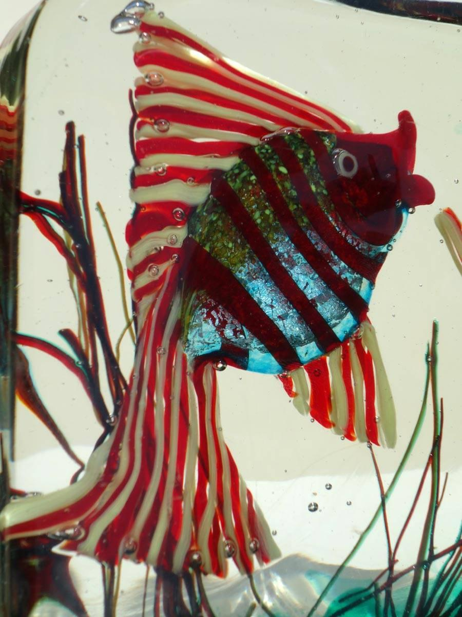 1950s by Alfredo Barbini for Cenedese Murano Glass Aquarium For Sale ...