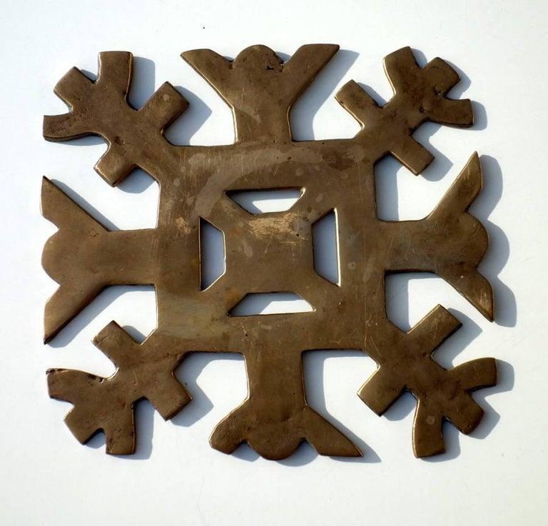 Mid-Century Modern 1950s by Arnaldo Gio Pomodoro Il Sestante Italian Midcentury Bronze Sculptures For Sale