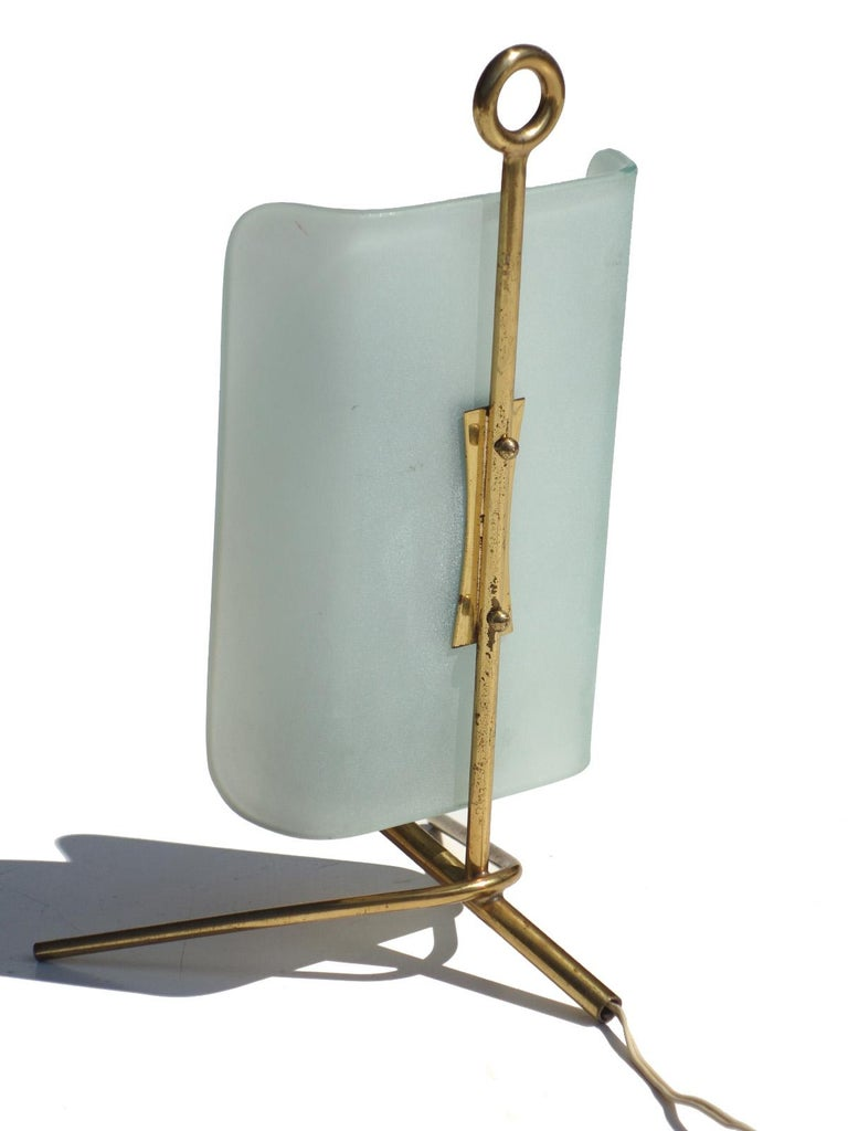 Mid-20th Century 1950s by Arredoluce Italian Design Midcentury Table Lamp For Sale