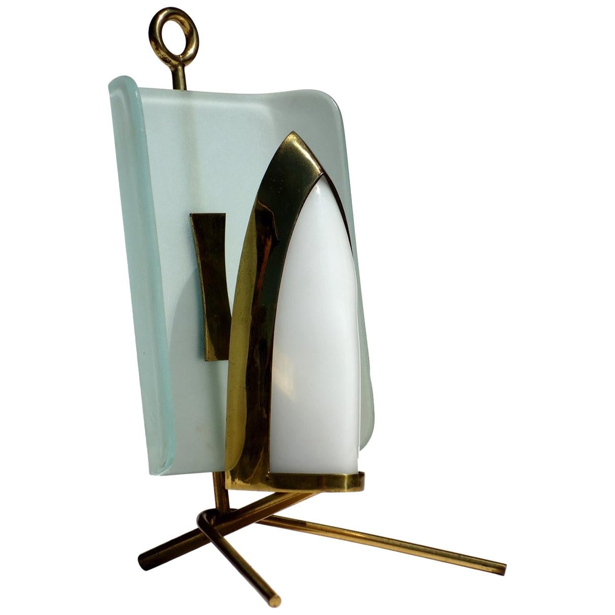 1950s by Arredoluce Italian Design Midcentury Table Lamp