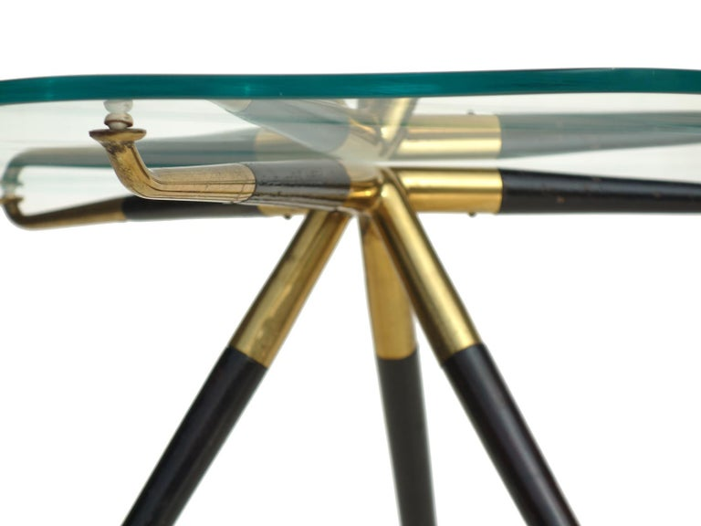 1950s by Cesare Lacca Italian Design Midcentury Coffee Table In Excellent Condition For Sale In Brescia, IT
