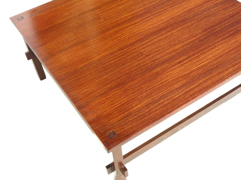 Mid-20th Century 1950s by Frattini for Cassina Italian Midcentury Design 740 Coffee Table For Sale