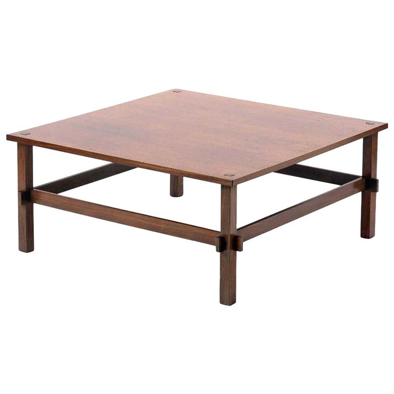 1950s by Frattini for Cassina Italian Midcentury Design 740 Coffee Table For Sale