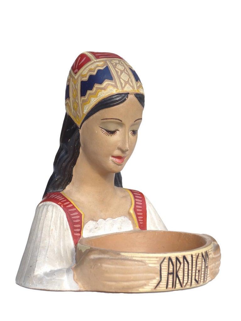 Traditional figure,  Dorgali, 1950s  Perfect condition.