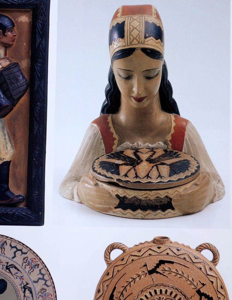 1950s by Paolo Loddo Dorgali Ceramic Figure For Sale 2